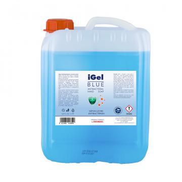 Sapun lichid IGel Blue antibacterial canistra 5 litri de la Ekomax International Srl