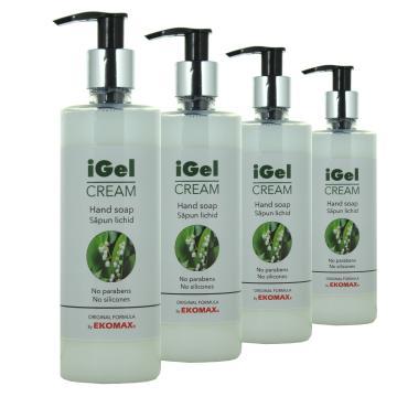 Sapun lichid IGel CreamLily of the Valley flacon 330 ml de la Ekomax International Srl