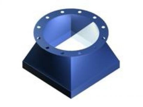 Manseta flexibila rectangulara/cilindrica
