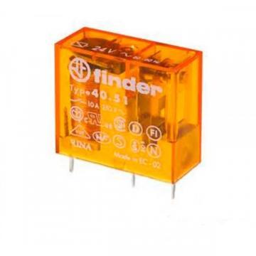 Minireleu electromagnetic Finder, DPDT, 8A/250VAC