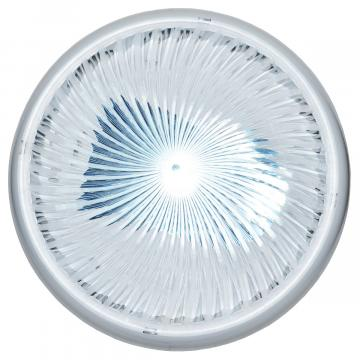 Plafoniera rotunda PC. 1xE27, disp transp FI:30 cm, alb,IP20 de la Spot Vision Electric & Lighting Srl