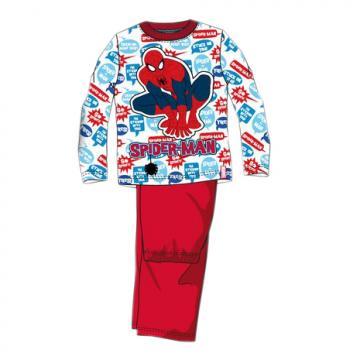 Pijama baieti, Spiderman, bumbac, rosu de la A&P Collections Online Srl-d