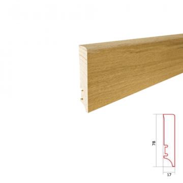Plinta parchet lemn P78 de la Altdepozit Srl