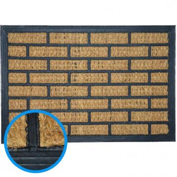 Pres intrare (covoras) cocos Bricks 60*40 cm
