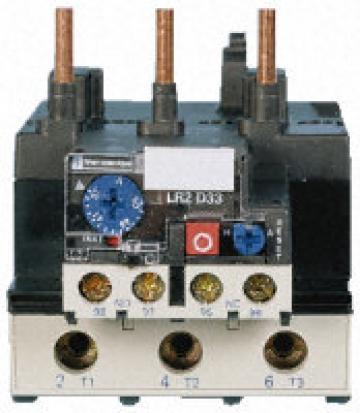 Releu termic pentru suprasarcina motor 63-80A Telemecanique de la Kalva Solutions Srl