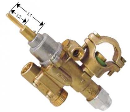 Robinet de gaz PEL 22S/O, intrare gaz 27mm 101489 de la Kalva Solutions Srl