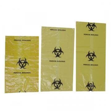 Sac galben Biohazard, 120 litri (25 buc)
