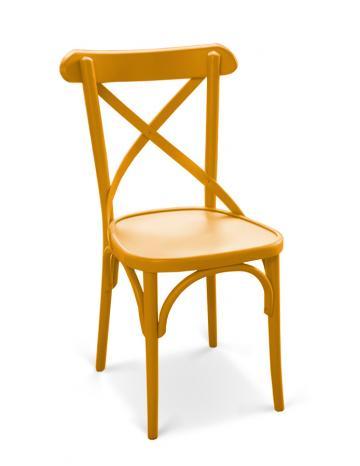 Scaun din lemn curbat Niv colorat
