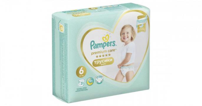 Scutece chilotel Pampers Care 15kg+ Junior 6 (31buc) de la Pepita.ro