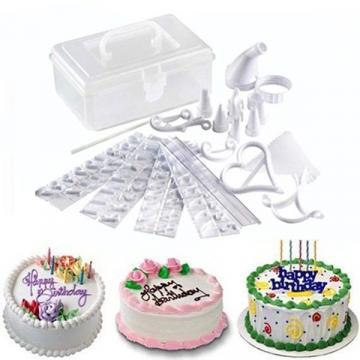 Set 100 piese pentru decorare prajituri Cake Decorating de la Startreduceri Exclusive Online Srl - Magazin Online - Cadour