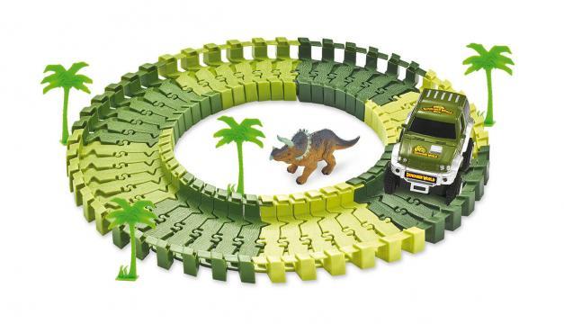 Joc set de constructie - Parcul dinozaurilor de la A&P Collections Online Srl-d