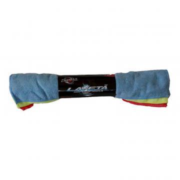Set laveta microfibra 3buc 40x30cm 3-culori, Carmax
