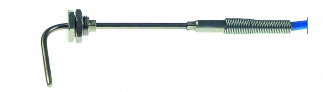 Sonda de temperatura termocupla, cablu cu 2 fire