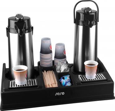 Stand / masa pentru servirea cafelei la bufet Leo 2 de la Clever Services SRL