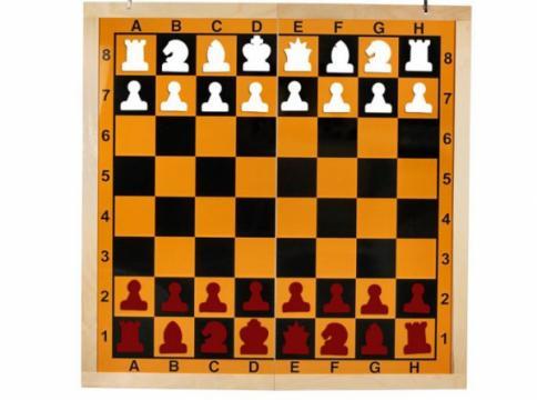 Tabla sah de demonstratie magnetica de la Chess Events Srl
