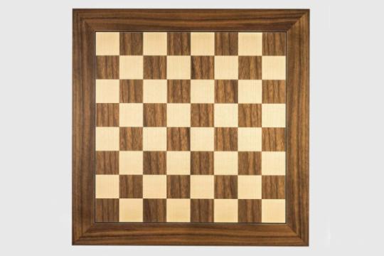 Tabla de sah nuc (walnut) DGT, 55mm de la Chess Events Srl