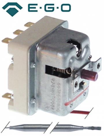 Termostat de siguranta 295C, 3poli, 20A, bulb 4mmx120mm