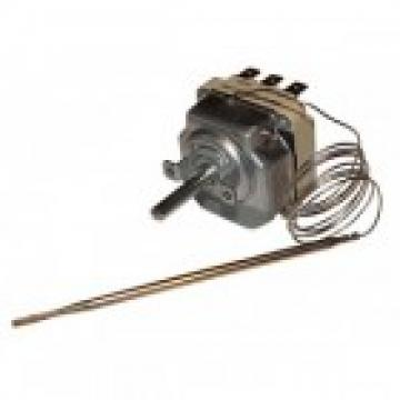 Termostat reglabil 30-190*C, 3NO, bulb 4mmx73mm