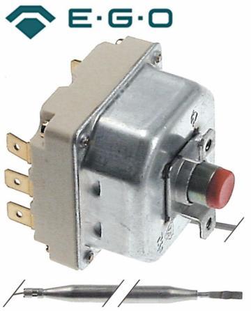 Termostat de siguranta 225*C, 3poli, 20A, bulb 6mmx157mm