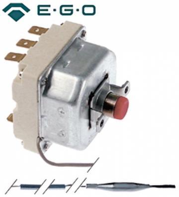 Termostat de siguranta 250*C, 3poli, 20A, bulb 6mmx239mm