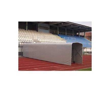 Tunel retractabil pentru stadioane de fotbal de la Sc Licornia Srl