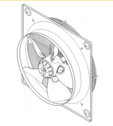 Ventilator axial HXTR/4-630