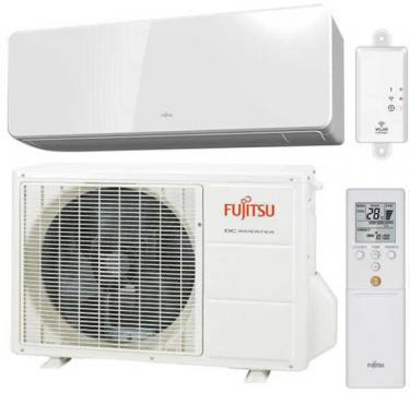 Aer conditionat Fujitsu R32 ASYG12KGTA Inverter 12000 BTU/h de la Sc Celfar Industrial Srl