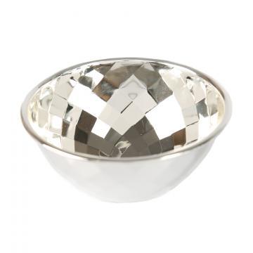Bol argintat Diamonds by Chinelli Italy de la Luxury Concepts Srl
