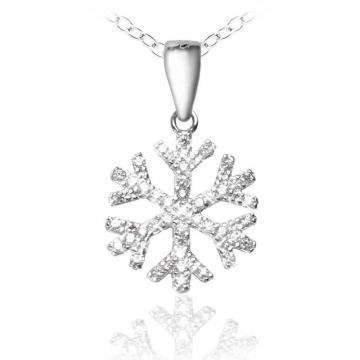 Colier Winter Magic Silver 925 Crystal Diamonds