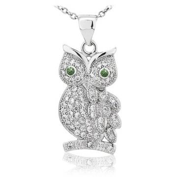 Colier din argint Wise Eyes de la Luxury Concepts Srl
