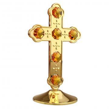 Cadou Crucifix cu cristale Swarovski