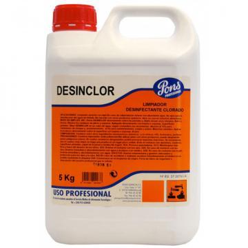 Solutie igienizanta pe baza de clor Desinclor - 5 L, Asevi