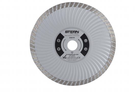 Disc diamantat taiere umeda si uscata Stern 180 mm de la Micul Gospodar