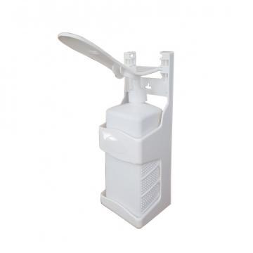 Dozator dezinfectant actionare cu cotul, 1L