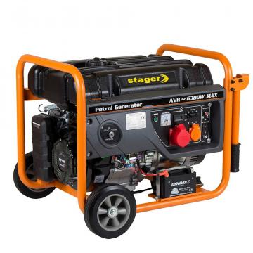 Generator curent electric pe benzina Stager GG 7300-3EW