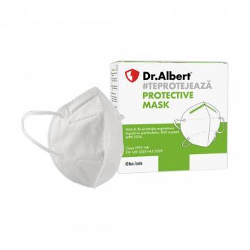 Masca protectie respiratorie FFP2, fara supapa, 5 straturi de la Sanito Distribution Srl