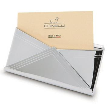 Port card argint Chinelli Italy de la Luxury Concepts Srl