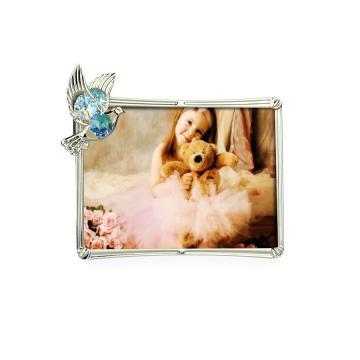 Rama foto cu porumbel decorat cu cristale Swarovski de la Luxury Concepts Srl