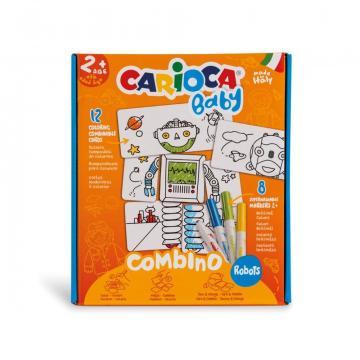 Set creativ Carioca Baby 2+ Robots
