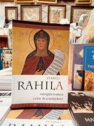 Carte, Stareta Rahila mangaietoarea celor deznadajduiti de la Candela Criscom Srl.