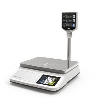 Cantar comercial CAS PR II 30CP cu brat 15/30 kg USB (15 kg) de la Sedona Alm