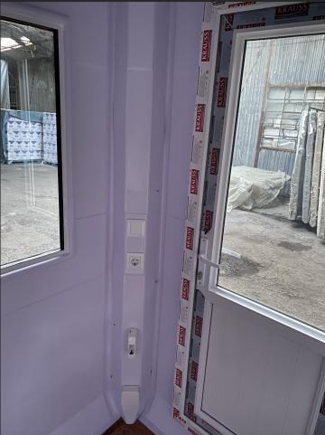 Cabina de paza din fibra de sticla 150x150 de la Delta Marin Trade Srl