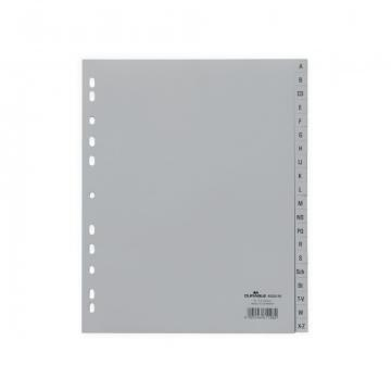 Index plastic A4 A-Z Durable de la Sanito Distribution Srl