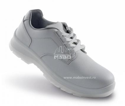 Pantofi albi Biella S2