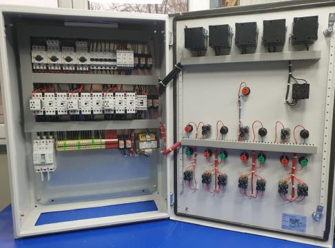 Tablou comanda grup pompare 3x9.2KW Y +1.1KW DOL de la Electrosistem Prod Srl