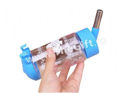 Recipient de apa cu bila, pentru hamsteri