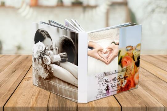 Album foto personalizat 20x20 cm