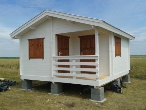 Casa de vara din lemn Balaton 1 de la Korondi Arcso Srl