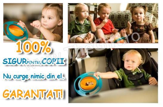 Bol hrana pentru copii Loopa Gyro de la Thegift.ro - Cadouri Online