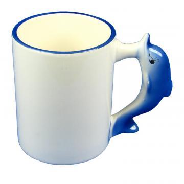 Cana personalizata cu toarta delfin de la Alconcept Product SRL